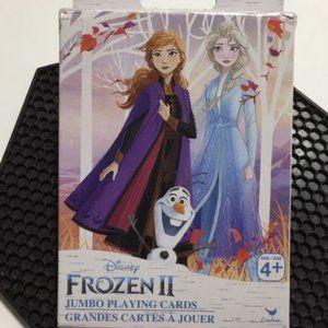Disney Frozen II Jumbo Playing Cards